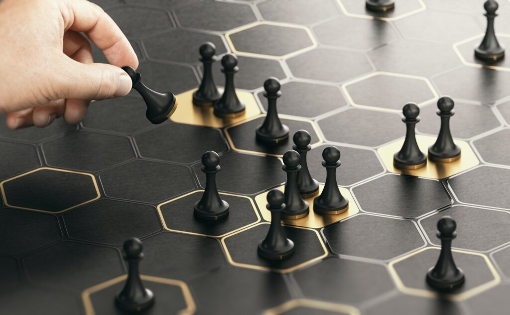 Repositioning strategy or market positioning.